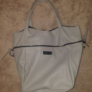Kenneth Cole Reaction Grey Convertible Tote